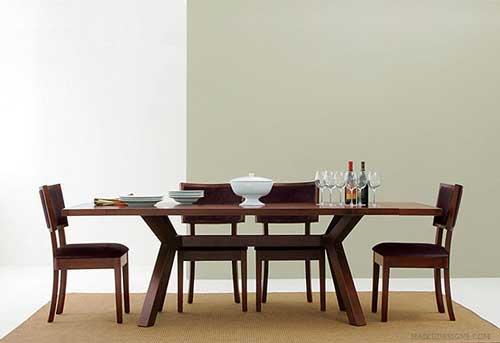 چیدمان میز نهارخوری در منزل